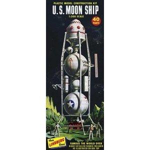 Lindberg . LND 1/96 U.S. MOON SHIP