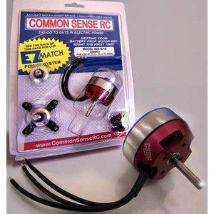 Common Sense R/C . CSR BRUSHLESS MOTOR 2000KV 21-28oz