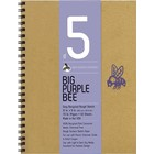 Bee Paper Company . BEE 70LB PURPLE BEE GREY 50SH 9X12