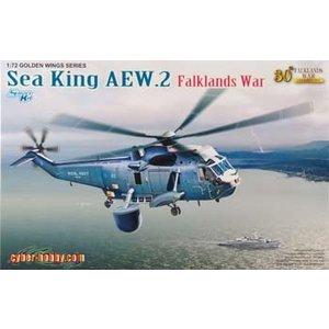Cyber-Hobby Models . CYH 1/72 SEA KING AEW 2 FALKLAND