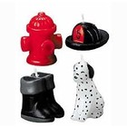 Wilton Products . WIL CANDLE FIREFIGHTING 4PC SET