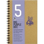 Bee Paper Company . BEE 70LB PURPLE BEE GREY 50SH 9X6