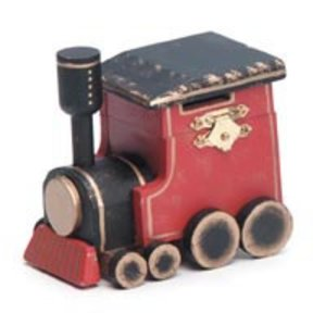 Darice . DAR WOOD HINGE BOX TRAIN 3.75