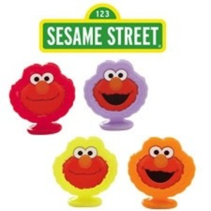 Wilton Products . WIL ELMO CUPCAKE TOPPERS