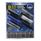 Hawk Importers Inc . HKI 9 LED ALUM FLASH LIGHT