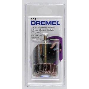 Dremel . DRE FLAPWHEEL 3/8'' 80 GRIT