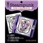 Hot Off The Press . HOP STEAMPUNK ADULT COLOR BOOK