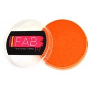 Fab . FAB AQUACOLOR BRIGHT ORANGE 16GM FACE & BODY PAINT