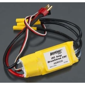 Aqua Craft . AQU 20-AMP LIPO ESC MINIMONO