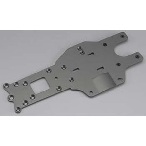 Hobby Products Intl. . HPI REAR CHASSIS PLATE GRAY BAJA