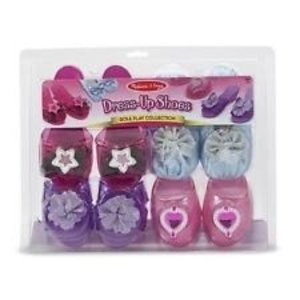 Melissa & Doug . M&D DRESS UP SHOES