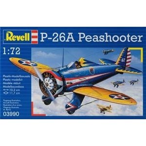 Revell of Germany . RVL 1/72 P-26A PEASHOOTER