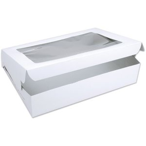Enterprise Paper . ENT 12X12X5 C/COAT CAKE BOX