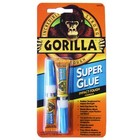 Gorilla Glue . GAG SUPER GLUE 2-3G TUBES GRAVITY