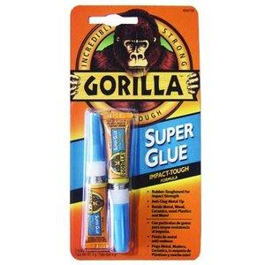 Gorilla Glue . GAG SUPER GLUE 2-3G TUBES GRAVITY