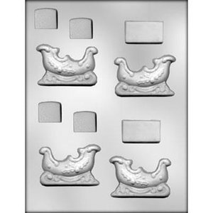 "CK Products . CKP 2 5/8"""" SLEIGH CHOC. MOLD"