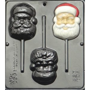 Make N Mold . MNM SANTA HEAD MINI MOLD