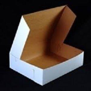 Enterprise Paper . ENT 14X14X5 C/COAT CAKE BOX