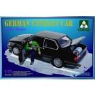 TAKOM . TAO 1/35 GERMAN CIVILIAN CAR W/GAS ROCKETS