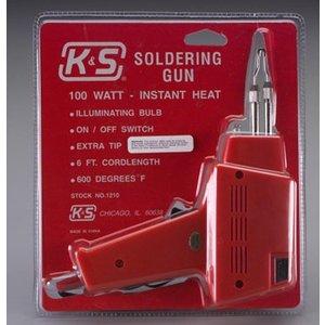 K&S Engineering . K+S SOLDERING GUN 100 WATTS