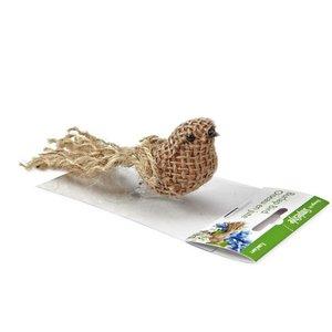 Floracraft . FLC BIRD BURLAP NATURAL