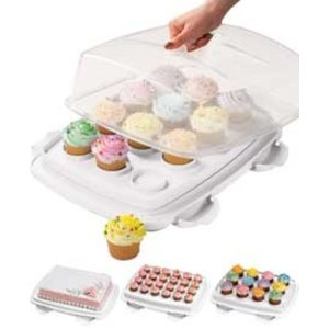 Wilton Products . WIL ULTIMATE 3 IN 1 CAKE CADDY
