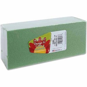 Floracraft . FLC DRY FOAM GREEN BLOCK