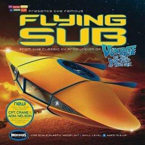 Moebius Models . MOE 1/32 VTTBS FLYING SUB RVSD