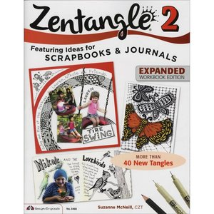 Design Originals . DOL ZENTANGLE 2 COLOR BOOK