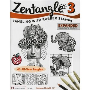 Design Originals DOL ZENTANGLE 3 COLOR BOOK