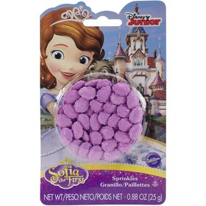 Wilton Products . WIL SOFIA THE FIRST SPRINKLES