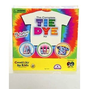 Creativity for kids . CFK THE COMPLETE TIE DYE KIT