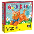 Creativity for kids . CFK SEW CUTE SOCK KITTY
