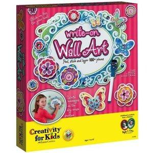 Creativity for kids . CFK WRITE ON WALL ART