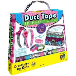 Creativity for kids . CFK DUCT TAPE FASHION ACCESSORIES