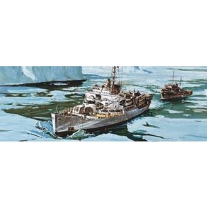Revell of Germany . RVL 1/285 USS BURTON ISLAND