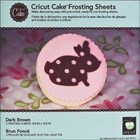 Provo Craft . PRV BROWN FROSTING SHEETS