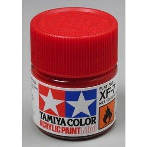 Tamiya America Inc. . TAM XF-7 FLAT RED ACRYLIC MINI