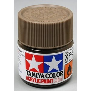 Tamiya America Inc. . TAM Xf-52 Flat Earth Acrylic Mini