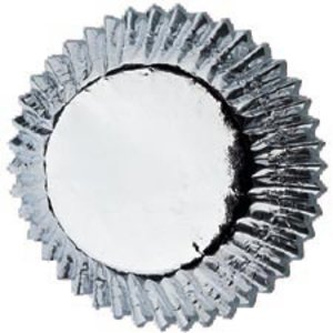 Wilton Products . WIL BAKING CUPS SILVER FOIL 24PK