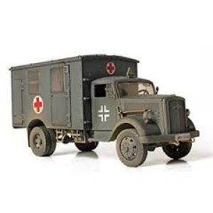 Unimax Toys/Forces of Val. UNX 1/32 GERM 4X4 AMBULANCE FRANCE