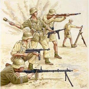 Revell of Germany . RVL 1/72 WW1 GERMAN AFRIKA CORPS