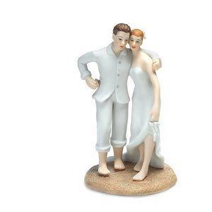 Wedding Star . WST EMBRACE ON THE BEACH TOPPER