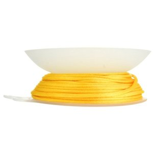 John Bead Corporation . JBC RATTAIL CORD 2MM YELLOW