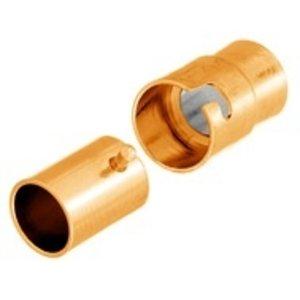 John Bead Corporation . JBC MAGN CLASP 17MM GOLD LF/NF  TWIST
