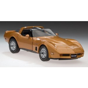 Armour Collection (frank). ARC 1982 CORVETTE GOLD 648 EXCLUSI