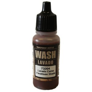 Vallejo Paints . VLJ FLESH WASH 17ML