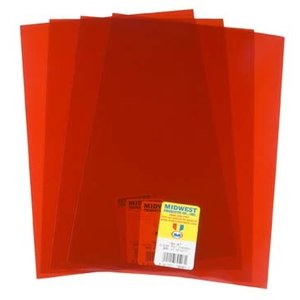 Midwest Products Co. . MID CHERRY SHEET PVC .005