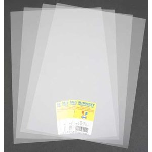 Midwest Products Co. . MID CLEAR SHEET PVC .005