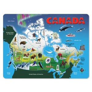 Melissa & Doug . M&D CANADA MAP PUZZLE
